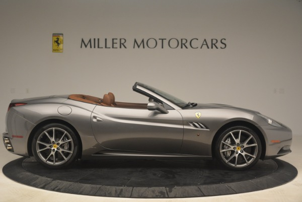 Used 2012 Ferrari California for sale Sold at Bentley Greenwich in Greenwich CT 06830 9