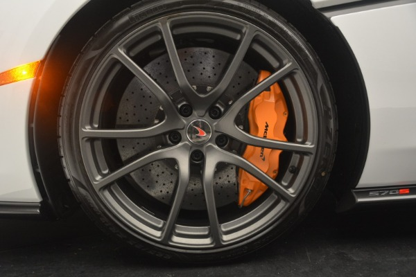 Used 2018 McLaren 570S Track Pack for sale Sold at Bentley Greenwich in Greenwich CT 06830 15