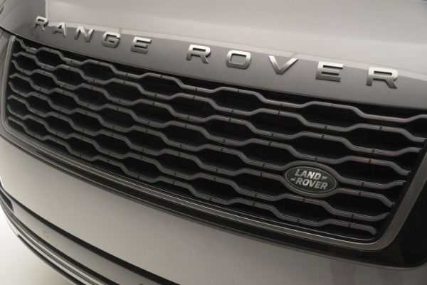 Used 2018 Land Rover Range Rover Supercharged LWB for sale Sold at Bentley Greenwich in Greenwich CT 06830 13
