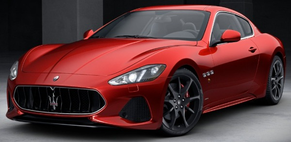 New 2018 Maserati GranTurismo Sport for sale Sold at Bentley Greenwich in Greenwich CT 06830 1