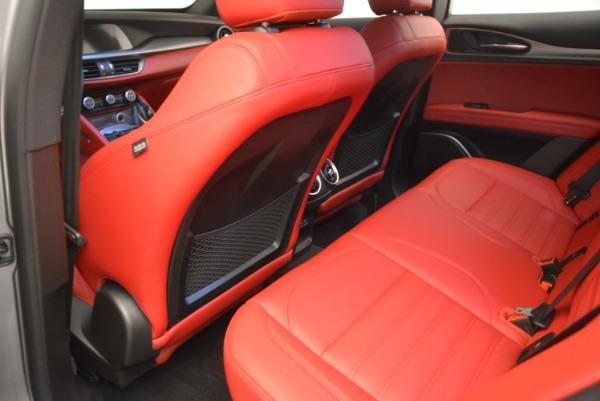 New 2018 Alfa Romeo Stelvio Ti Sport Q4 for sale Sold at Bentley Greenwich in Greenwich CT 06830 19