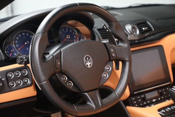 Used 2018 Maserati GranTurismo Sport for sale Call for price at Bentley Greenwich in Greenwich CT 06830 25