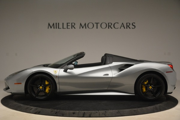 Used 2018 Ferrari 488 Spider for sale $274,900 at Bentley Greenwich in Greenwich CT 06830 3