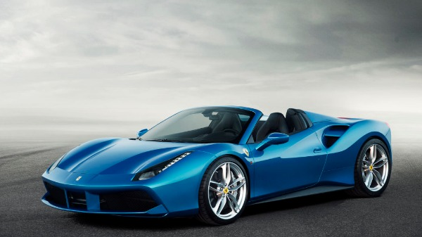 New 2019 Ferrari 488 Spider for sale Sold at Bentley Greenwich in Greenwich CT 06830 1