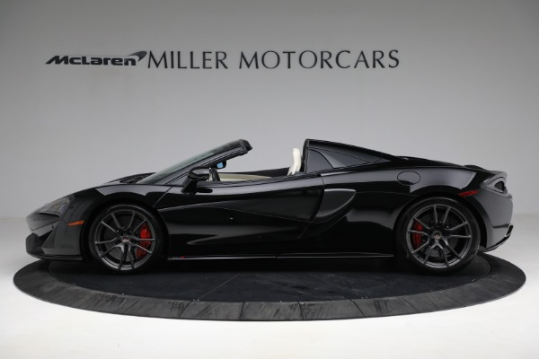 Used 2018 McLaren 570S Spider for sale Sold at Bentley Greenwich in Greenwich CT 06830 3