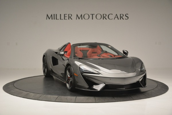 New 2018 McLaren 570S Spider for sale Sold at Bentley Greenwich in Greenwich CT 06830 11