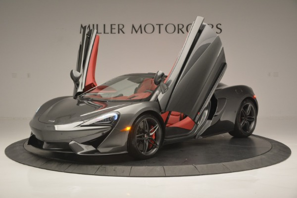 New 2018 McLaren 570S Spider for sale Sold at Bentley Greenwich in Greenwich CT 06830 14