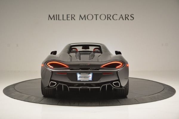 New 2018 McLaren 570S Spider for sale Sold at Bentley Greenwich in Greenwich CT 06830 18