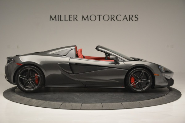 New 2018 McLaren 570S Spider for sale Sold at Bentley Greenwich in Greenwich CT 06830 9
