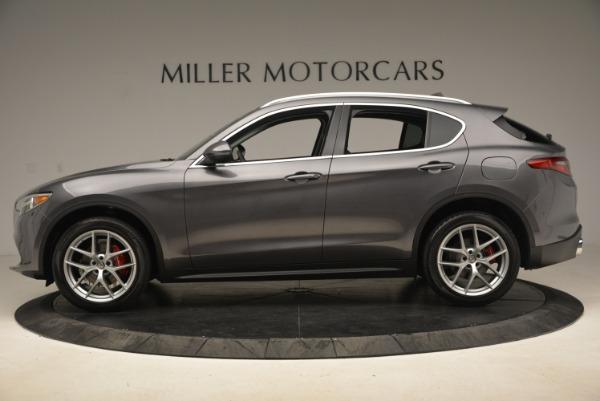New 2018 Alfa Romeo Stelvio Ti Q4 for sale Sold at Bentley Greenwich in Greenwich CT 06830 3