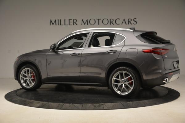 New 2018 Alfa Romeo Stelvio Ti Q4 for sale Sold at Bentley Greenwich in Greenwich CT 06830 4