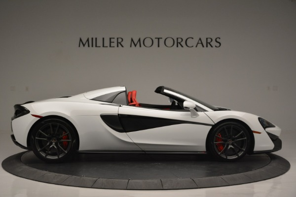 Used 2018 McLaren 570S Spider for sale Sold at Bentley Greenwich in Greenwich CT 06830 9