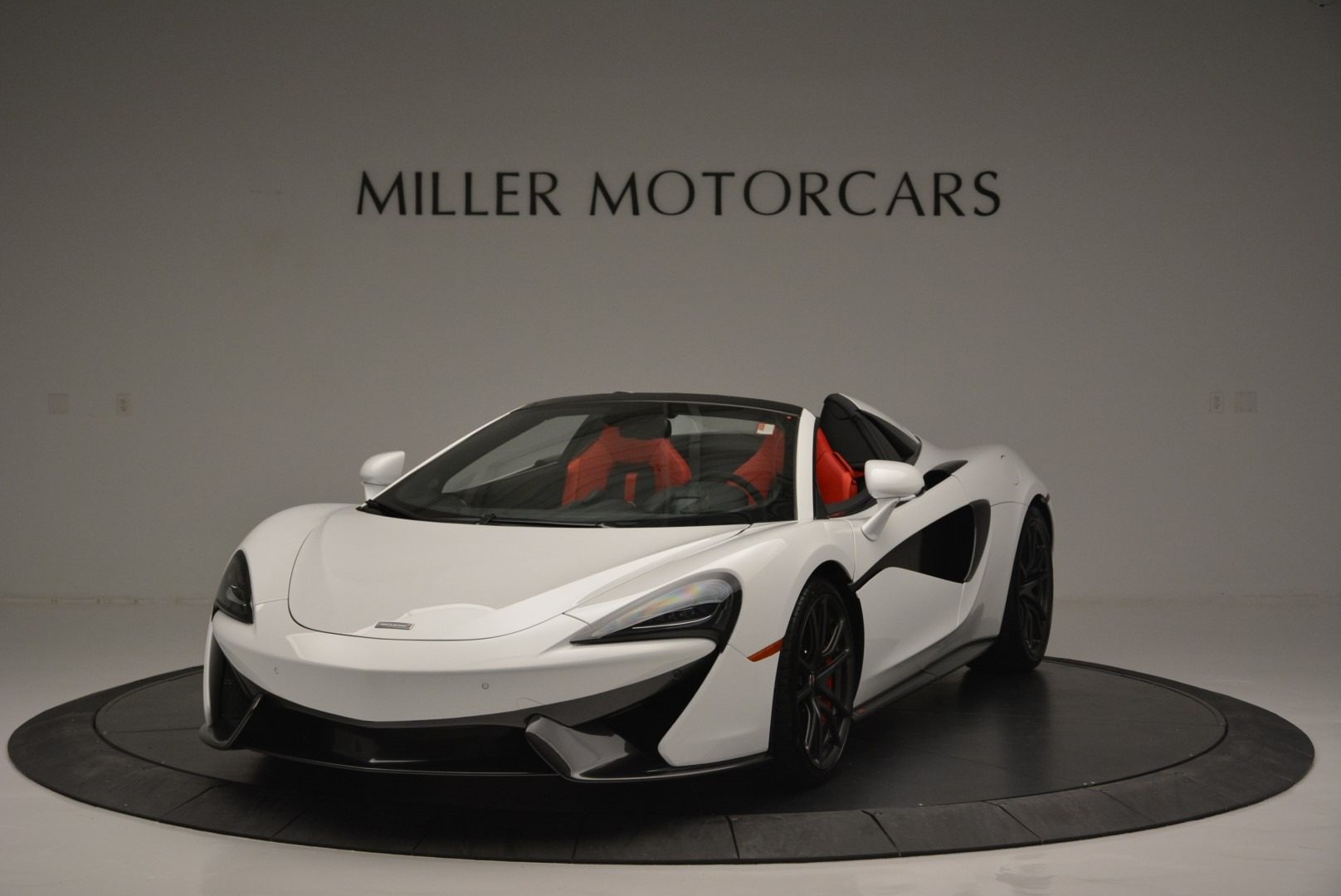 Used 2018 McLaren 570S Spider for sale Sold at Bentley Greenwich in Greenwich CT 06830 1
