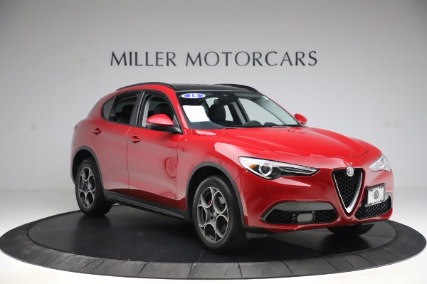 Used 2018 Alfa Romeo Stelvio Sport Q4 for sale Sold at Bentley Greenwich in Greenwich CT 06830 11