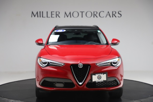 Used 2018 Alfa Romeo Stelvio Sport Q4 for sale Sold at Bentley Greenwich in Greenwich CT 06830 12