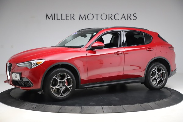 Used 2018 Alfa Romeo Stelvio Sport Q4 for sale Sold at Bentley Greenwich in Greenwich CT 06830 2