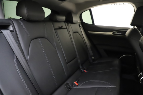 Used 2018 Alfa Romeo Stelvio Sport Q4 for sale Sold at Bentley Greenwich in Greenwich CT 06830 26