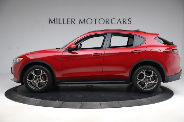 Used 2018 Alfa Romeo Stelvio Sport Q4 for sale Sold at Bentley Greenwich in Greenwich CT 06830 3