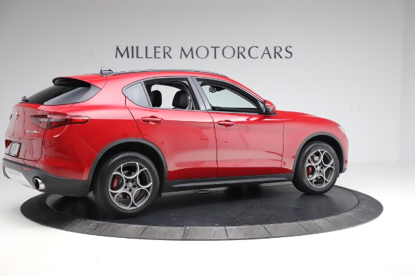 Used 2018 Alfa Romeo Stelvio Sport Q4 for sale Sold at Bentley Greenwich in Greenwich CT 06830 8