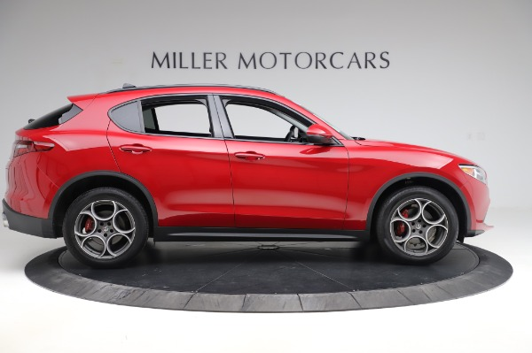 Used 2018 Alfa Romeo Stelvio Sport Q4 for sale Sold at Bentley Greenwich in Greenwich CT 06830 9