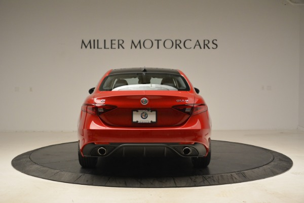 New 2018 Alfa Romeo Giulia Ti Sport Q4 for sale Sold at Bentley Greenwich in Greenwich CT 06830 6