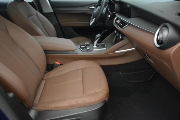 New 2018 Alfa Romeo Stelvio Ti Q4 for sale Sold at Bentley Greenwich in Greenwich CT 06830 21