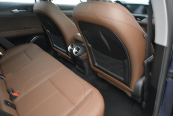 New 2018 Alfa Romeo Stelvio Ti Q4 for sale Sold at Bentley Greenwich in Greenwich CT 06830 23