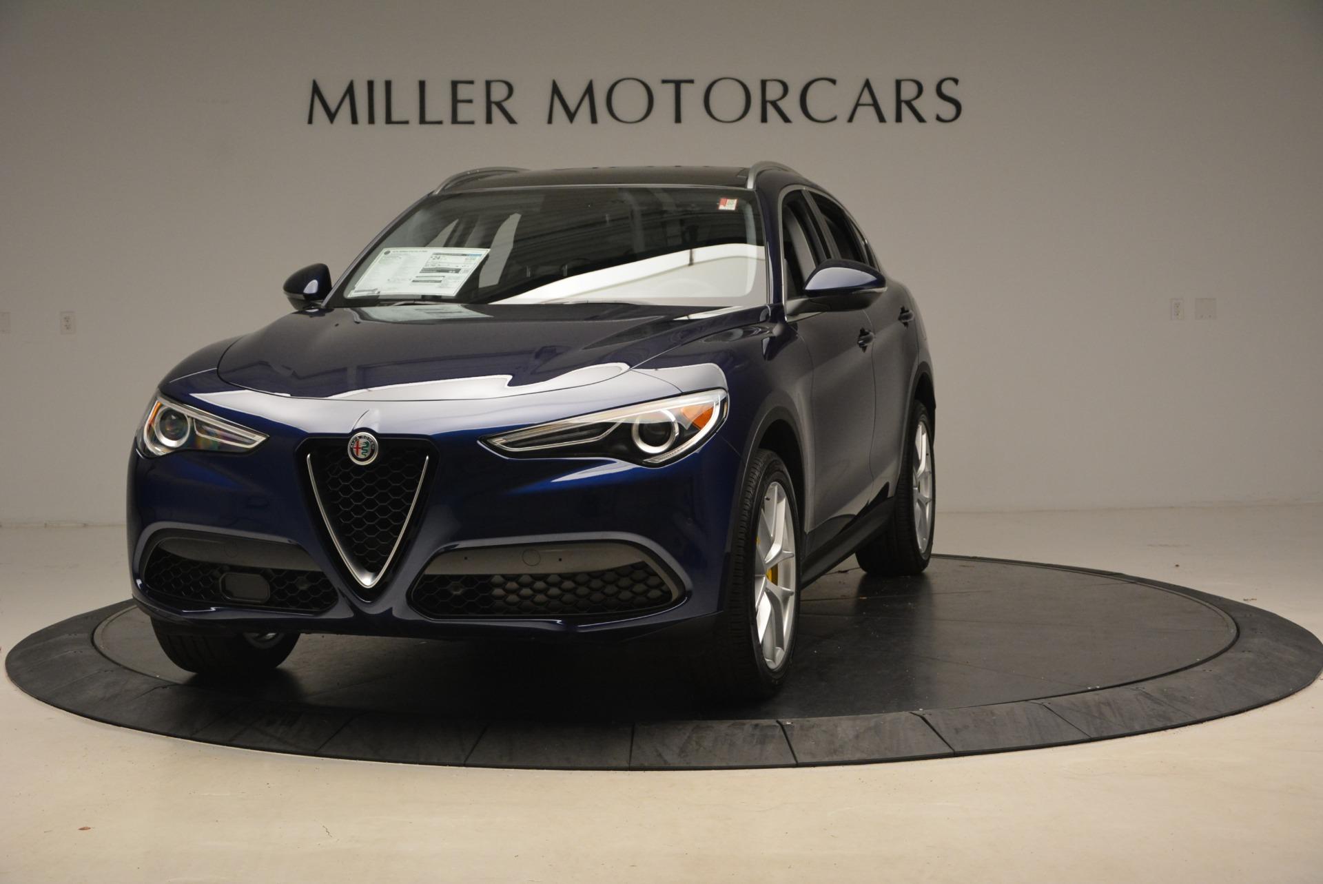 New 2018 Alfa Romeo Stelvio Ti Q4 for sale Sold at Bentley Greenwich in Greenwich CT 06830 1