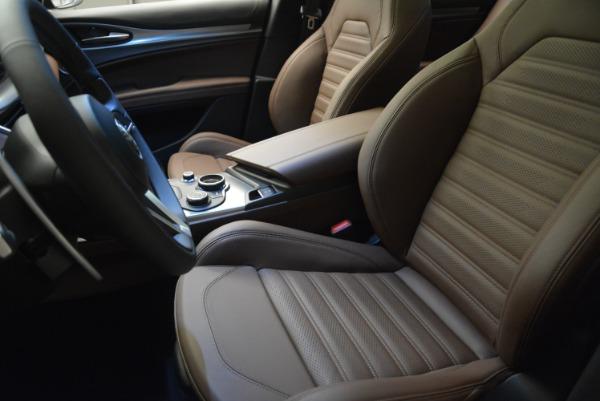 New 2018 Alfa Romeo Stelvio Ti Sport Q4 for sale Sold at Bentley Greenwich in Greenwich CT 06830 26