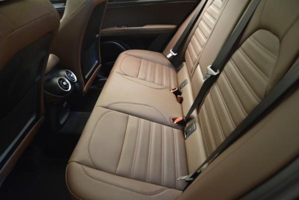 New 2018 Alfa Romeo Stelvio Ti Sport Q4 for sale Sold at Bentley Greenwich in Greenwich CT 06830 28
