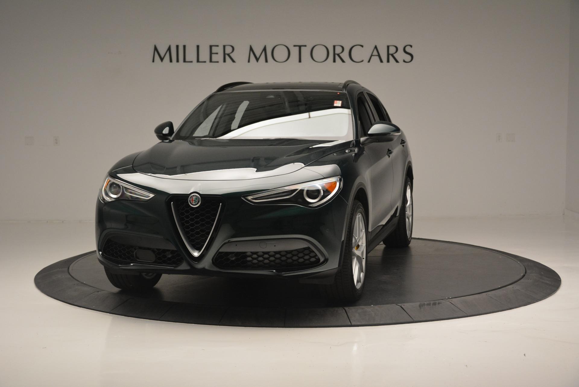 New 2018 Alfa Romeo Stelvio Ti Sport Q4 for sale Sold at Bentley Greenwich in Greenwich CT 06830 1