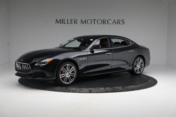 New 2018 Maserati Quattroporte S Q4 for sale Sold at Bentley Greenwich in Greenwich CT 06830 3