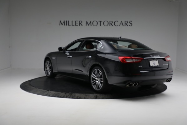 New 2018 Maserati Quattroporte S Q4 for sale Sold at Bentley Greenwich in Greenwich CT 06830 6