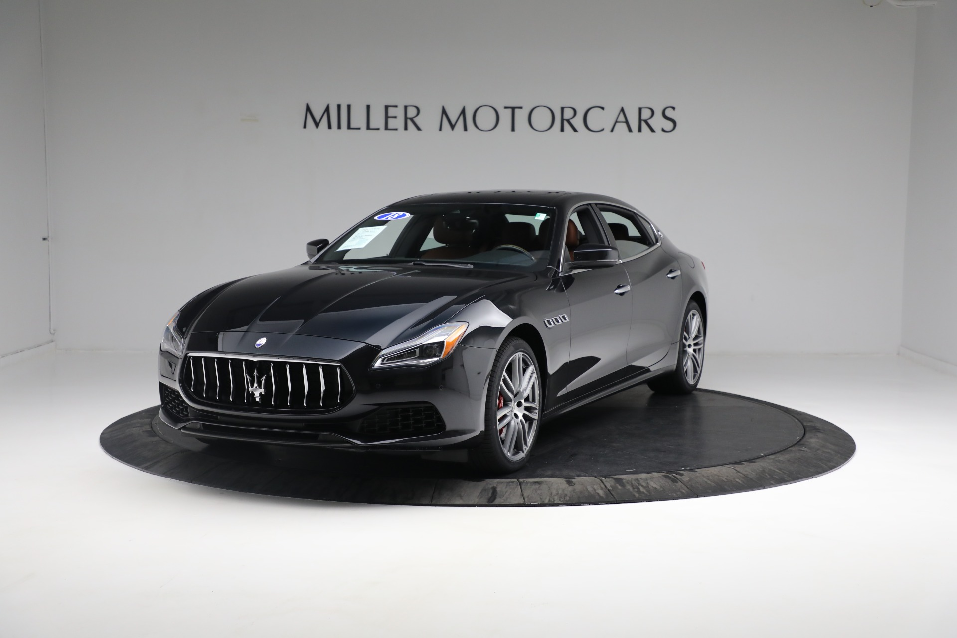 New 2018 Maserati Quattroporte S Q4 for sale Sold at Bentley Greenwich in Greenwich CT 06830 1