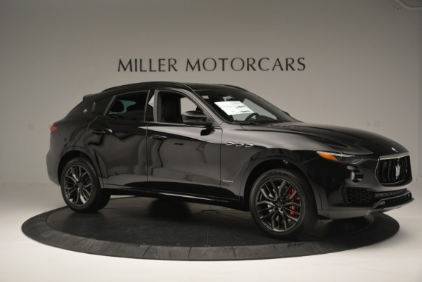 New 2018 Maserati Levante S Q4 GranSport Nerissimo for sale Sold at Bentley Greenwich in Greenwich CT 06830 10