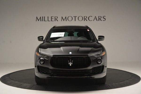 New 2018 Maserati Levante S Q4 GranSport Nerissimo for sale Sold at Bentley Greenwich in Greenwich CT 06830 12