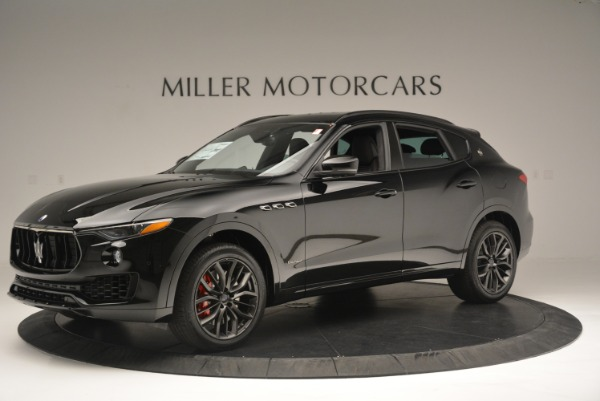 New 2018 Maserati Levante S Q4 GranSport Nerissimo for sale Sold at Bentley Greenwich in Greenwich CT 06830 2