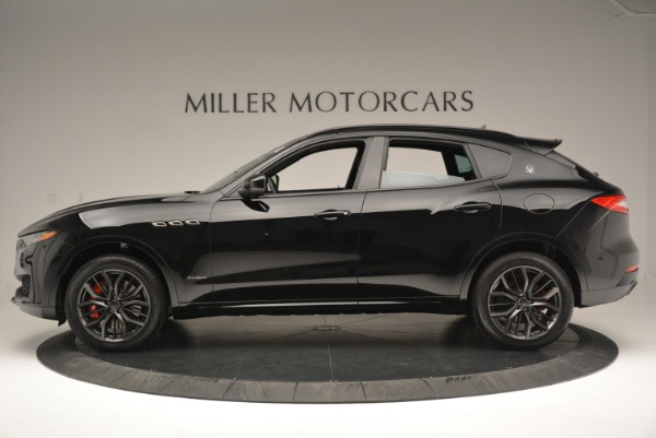 New 2018 Maserati Levante S Q4 GranSport Nerissimo for sale Sold at Bentley Greenwich in Greenwich CT 06830 3