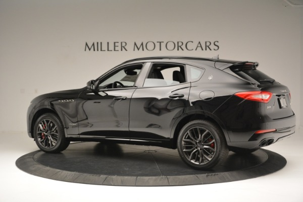 New 2018 Maserati Levante S Q4 GranSport Nerissimo for sale Sold at Bentley Greenwich in Greenwich CT 06830 4