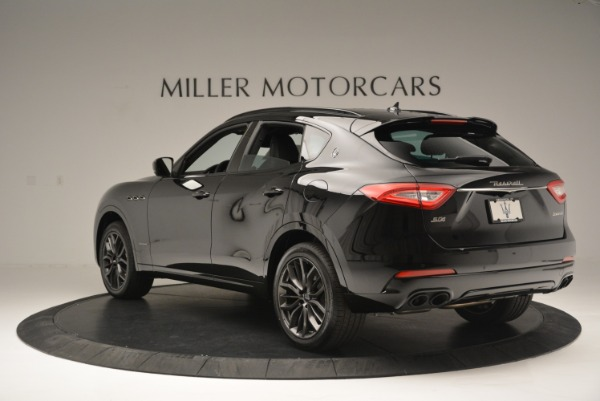 New 2018 Maserati Levante S Q4 GranSport Nerissimo for sale Sold at Bentley Greenwich in Greenwich CT 06830 5