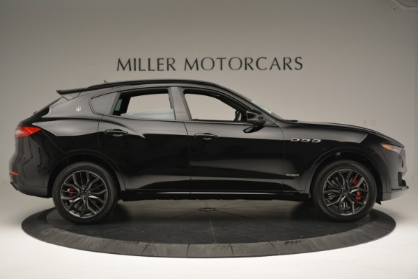 New 2018 Maserati Levante S Q4 GranSport Nerissimo for sale Sold at Bentley Greenwich in Greenwich CT 06830 9