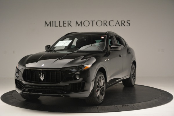 New 2018 Maserati Levante S Q4 GranSport Nerissimo for sale Sold at Bentley Greenwich in Greenwich CT 06830 1