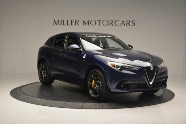 New 2018 Alfa Romeo Stelvio Quadrifoglio for sale Sold at Bentley Greenwich in Greenwich CT 06830 11
