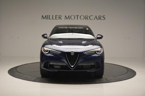 New 2018 Alfa Romeo Stelvio Quadrifoglio for sale Sold at Bentley Greenwich in Greenwich CT 06830 12