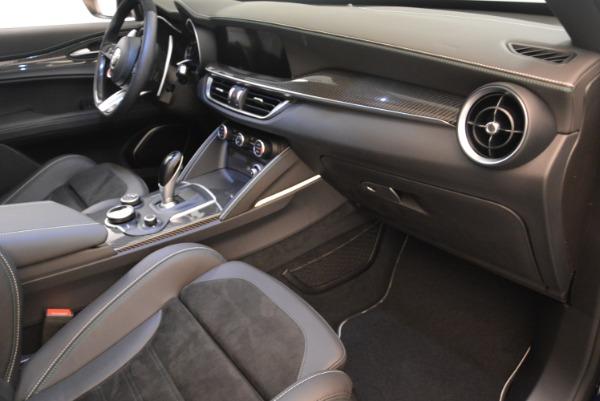 New 2018 Alfa Romeo Stelvio Quadrifoglio for sale Sold at Bentley Greenwich in Greenwich CT 06830 19