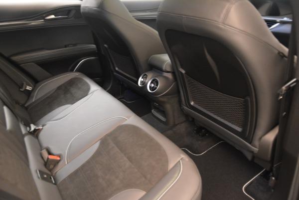 New 2018 Alfa Romeo Stelvio Quadrifoglio for sale Sold at Bentley Greenwich in Greenwich CT 06830 22