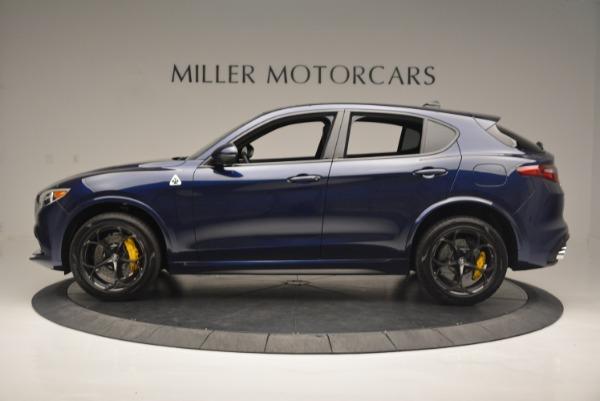 New 2018 Alfa Romeo Stelvio Quadrifoglio for sale Sold at Bentley Greenwich in Greenwich CT 06830 3