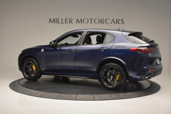 New 2018 Alfa Romeo Stelvio Quadrifoglio for sale Sold at Bentley Greenwich in Greenwich CT 06830 4