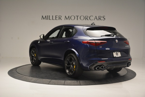New 2018 Alfa Romeo Stelvio Quadrifoglio for sale Sold at Bentley Greenwich in Greenwich CT 06830 5