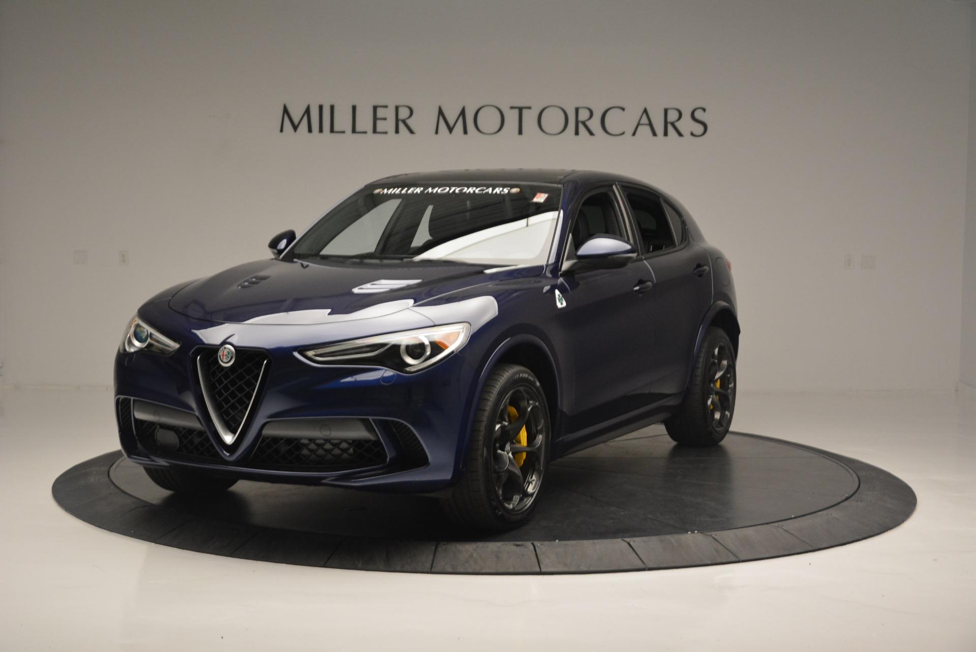 New 2018 Alfa Romeo Stelvio Quadrifoglio for sale Sold at Bentley Greenwich in Greenwich CT 06830 1
